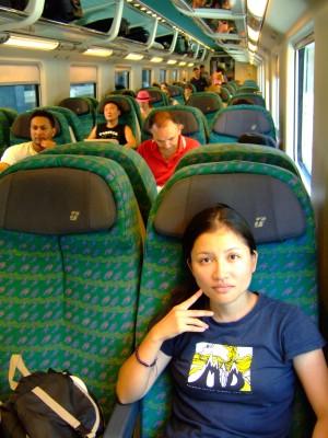 世界一周旅行 イタリア ユーロスター