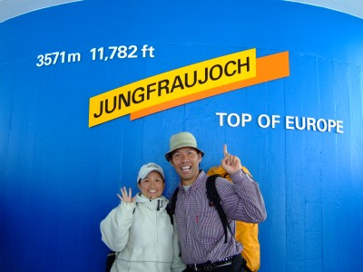 スイス ユングフラウヨッホ 登山列車